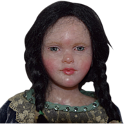 Edna Dali One of a Kind Artist Doll with Riveting Eyes