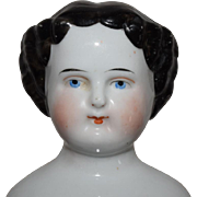 SOLD Kister German Flat Top China Head Doll - Red Tag Sale Item