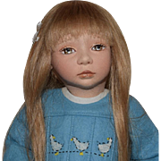 "Maggie Made Limited Edition Felt Doll ""Brooke"""