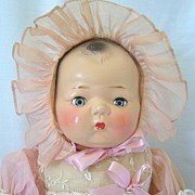 Horsman Composition Baby Doll in Original Costume and Box