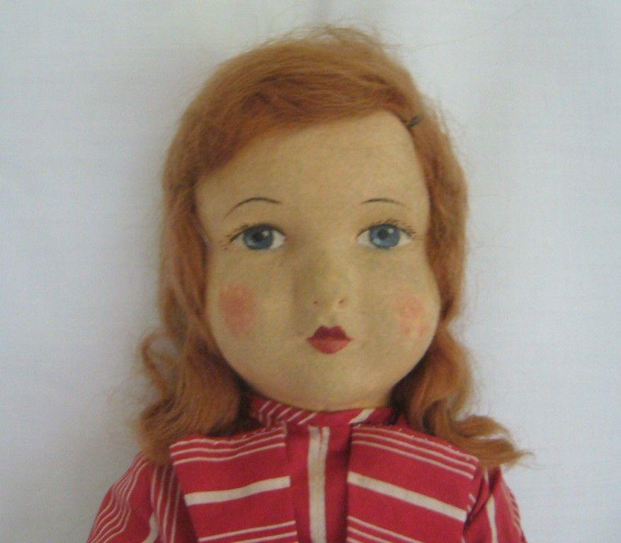 Chad Valley Cloth Child Doll