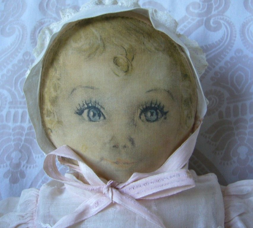"""Averill Cloth Doll """"Sweets"""" Designed by Maude Tausey Fangel"""