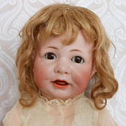 Kammer & Reinhardt German Bisque Character Doll 116A on a Toddler Body