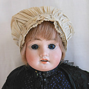 Early German Bisque Head Doll in All Original Ethnic Costume