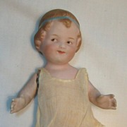 Gebruder Heubach German All Bisque Character Coquette Doll