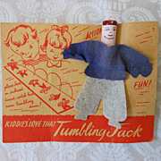 SOLD Tumbling Jack Vintage Toy