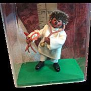 Small Doctor Hedgehog Original Plastic Case Austria Peter Figurin