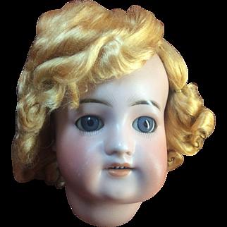 "Beautiful Vintage Blond Vintage Doll Wig Size 11"" Unknown Fiber"