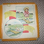 1920s Childrens Hankies with Initial K in Original Box