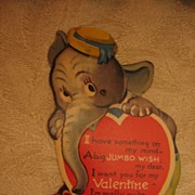 SALE Charles Twelvetrees Elephant and Monkey Mechanical Valentine
