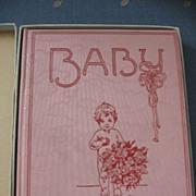 SALE Meta Morris Gimball Famous Illustrator Early 1900s Babyhood Days Book Baby Book