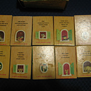 1940s Set of Tiny Animal Stories Tiny Golden Books by Kunhardt