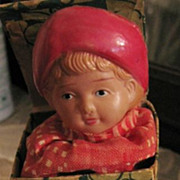 Antique Celluloid Jack in the Box Child Toy