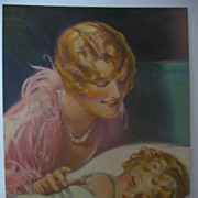 SALE Another Loving Mother and Baby Calendar Print