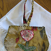 Vintage Childs Purse Old Handmade Sewing Project