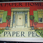 Antique Rare Book A Paper Home For Paper People By Edith A Root
