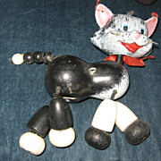 REDUCED Old Retired Kitten Puppet Needs Someone to Love Him