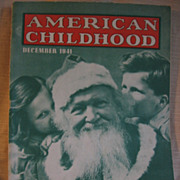 1940s American Childhood Magazine for the Primary Teacher