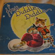 Wonderful Old Nursery Rhyme Pop Up Hey Diddle Diddle Card