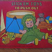 SALE 5 Colorful Platt & Munk Childrens Stick Em Books