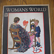 1930s Womans World Magazine with Valentine Cover