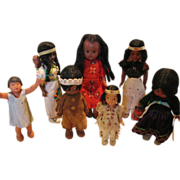 REDUCED Vintage American Indian Doll Collection