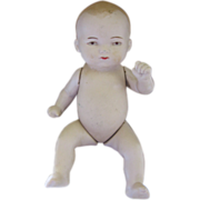 """Germany Marked Bisque Baby Doll 4 3/4"""" Tall"""