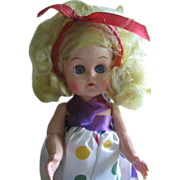 Vintage Lucy 1955 Colgate-Palmolive Fab Walker Ginny Era Doll