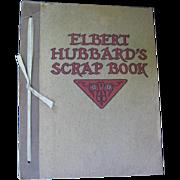 Arts & Crafts Movement Elbert Hubbards Scrap Book 1923 by Roycrofters