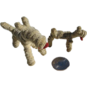 Miniature Chenille Pipe Cleaner Dogs