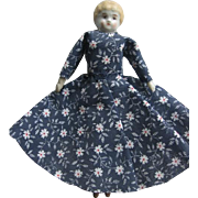 Small China Head Doll Companion for Larger Doll