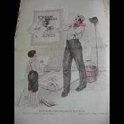 1920 Needlecraft Magazine Cream of Wheat Ad Plus