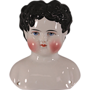 C1880s China Head Doll Exposed Ears