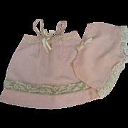 REDUCED c1950s Doll Dress & Pant Sun Suit