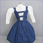 Early Doll Jumper and Blouse Treadle & Hand Stitched