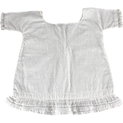 REDUCED Antique Cotton Chemise for Larger Doll Factory Made