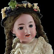 REDUCED Gebruder Heubach Character Child SANTA #5730 Scarce