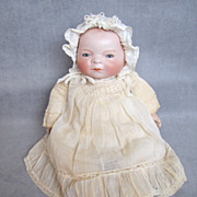 """German Bisque Bye-Lo Baby Gorgeous Head 12-1/2"""" Circumference"""