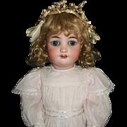 "Wonderful Antique 24"" German Bisque Simon Halbig Child Doll"