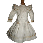 Lovely Early Doll Dress, French or German