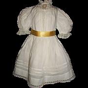 Lovely Antique Doll Dress, Handwerck, Kestner