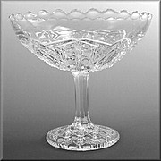 EAPG Floral Oval a.k.a. Banner Large Compote
