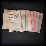 Unique Vietnam Era 1965 - 1967 Movie Schedules Europe Bad Kreuznach Germany