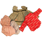 SOLD Vintage Vogue Ginny Clothing Lot, TLC to Excellent, c. 1950s