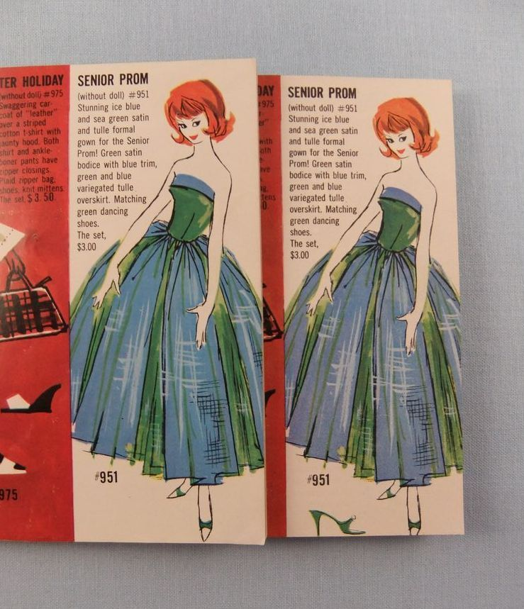 Vintage Mattel Barbie Fashion Booklets 9 Different