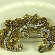 SALE McClelland Barclay Leaf Brooch Pin