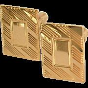 SALE 1/20 14k Gold Filled Cufflinks