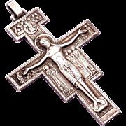 SALE Stunning Large Christian Catholic Saint Francis Dominic Cross Crucifix