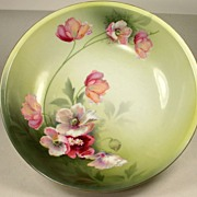 Beautiful Vintage RS Prussia Serving Bowl with Flowers