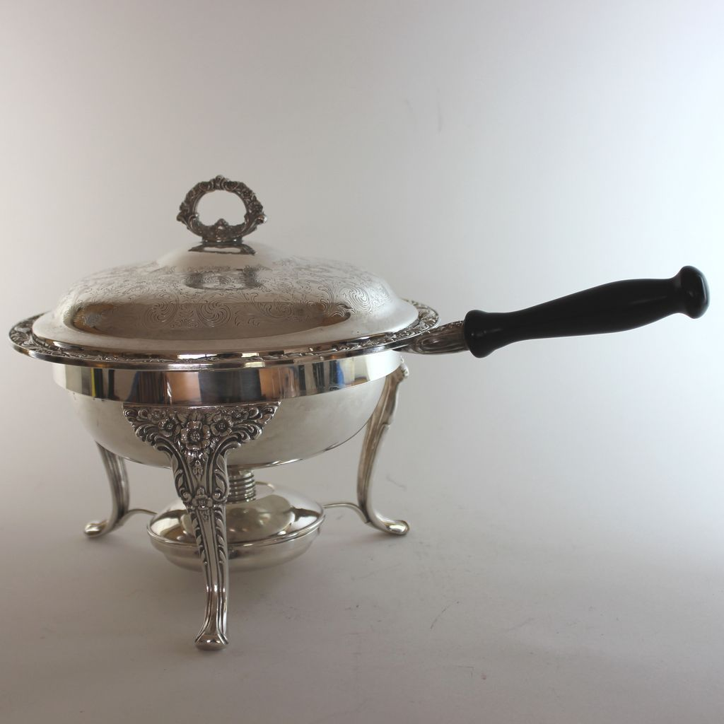 silverplate burner vintage